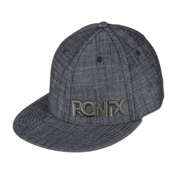 Sapca Ronix Forrester Fitted Hat - Black Denim